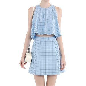 5/$30 🆕 blue Mayfair checkered suit dress